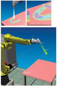 Maalausrobotti konesimulointi